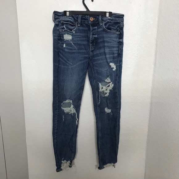 American Eagle Outfitters Denim - New American Eagle Distressed Tom Girl Skinny Jean